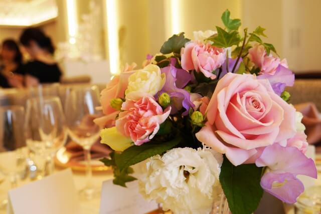 結婚式場での加湿器の活躍